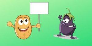 सब्जियों पर हास्य कविता
